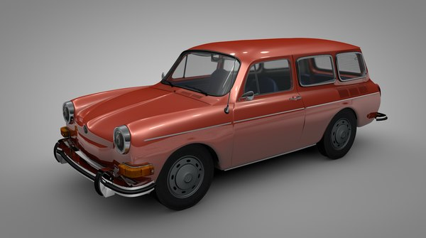 volkswagen type 36 3D model