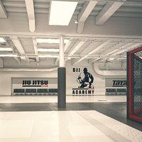 brazillian gym 3D