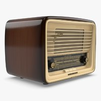 3D radio vintage - telefunken