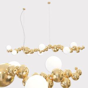 3D bubbly light linear modern