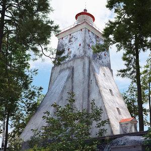 lighthouse light model