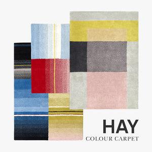 3D colour carpet