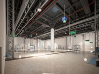 Exhibition Hall Warehouse 2
