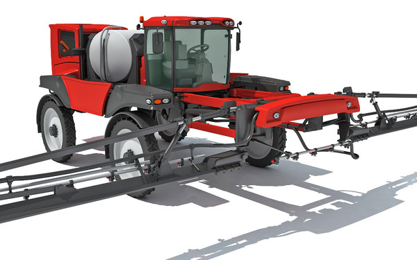 3D farm sprayer model