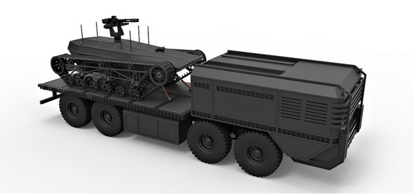 3D truck military ripsaw