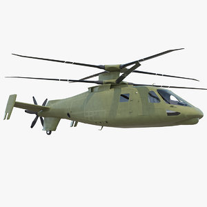 attack compound helicopter copters model