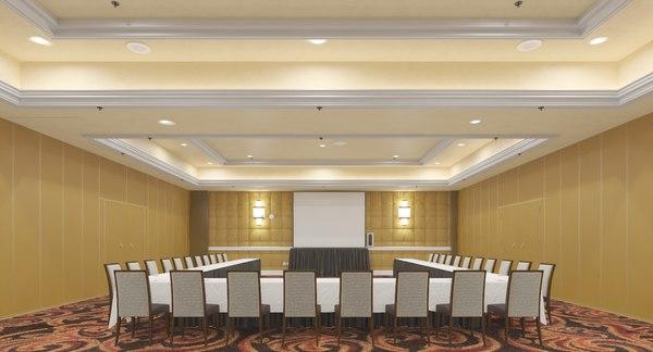 interior hotel 3D