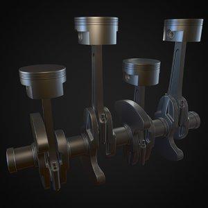 assembly cylinder 3D model