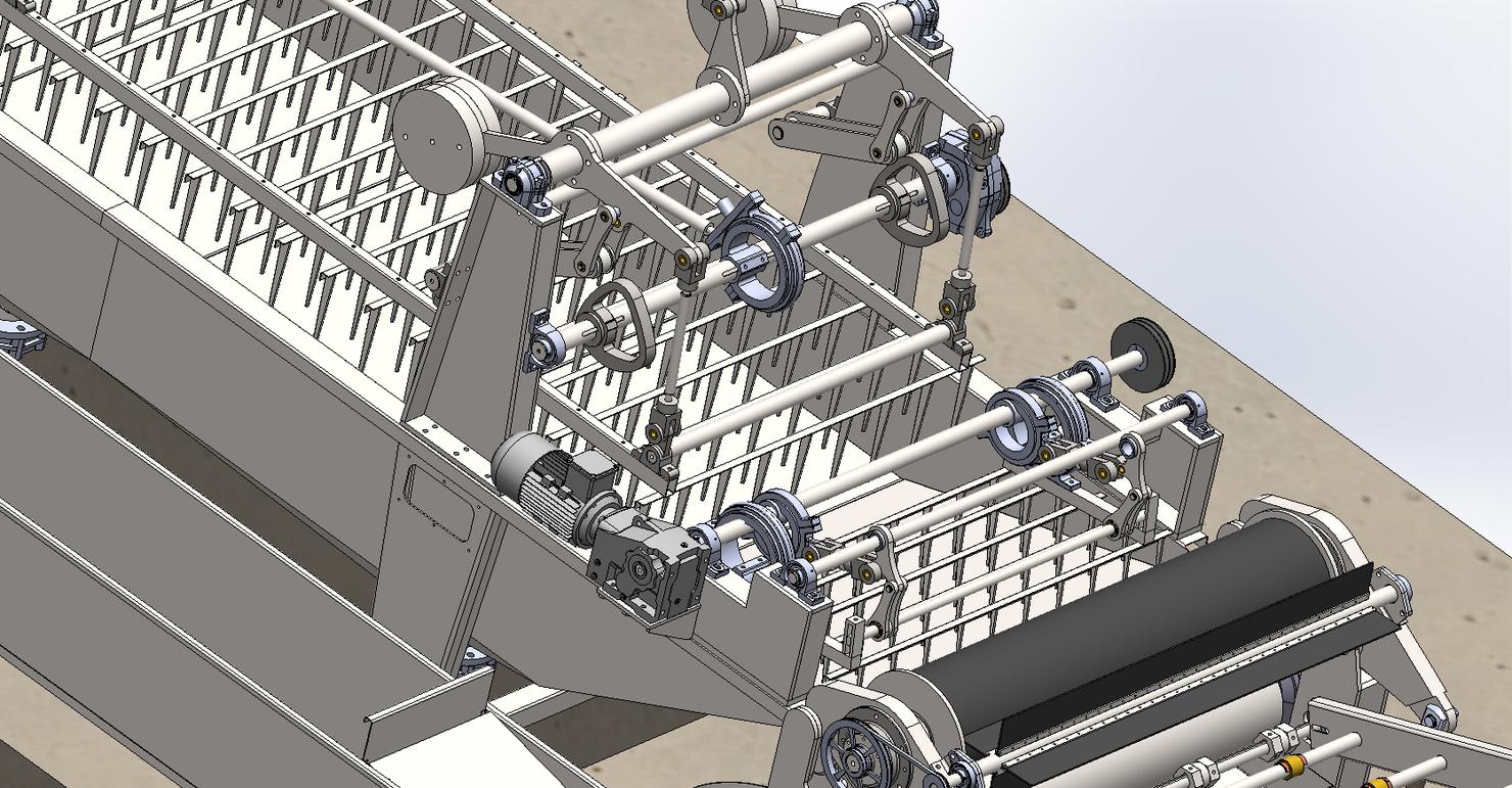 3D wool washing machine 8t