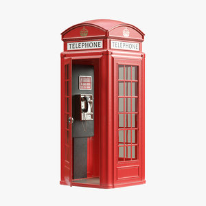 3D telephone box