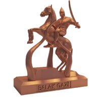 3D horse soldier model