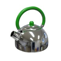 3D stainless steel kettle
