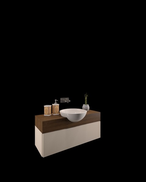 3D basin counter