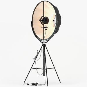 3D model fortuny lamp