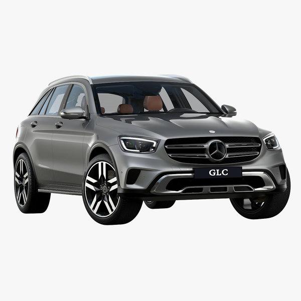 2020 mercedes-benz glc 3D model