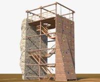 Climbing Wall Tower