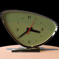 3D old clock grand