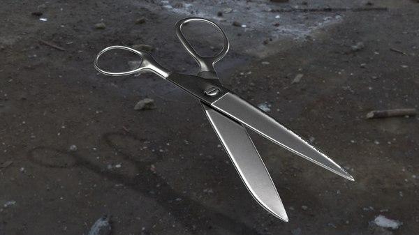 blender scissor 3D
