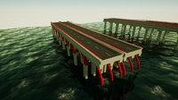 Bridge Parts (Game Ready)