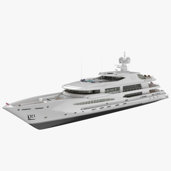 imagine yacht amels 3D model