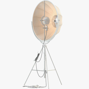 3D fortuny lamp pallucco floor model