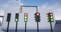 Traffic Lights (Game Ready)