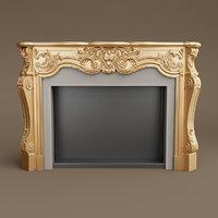 provasi fireplace 3D model