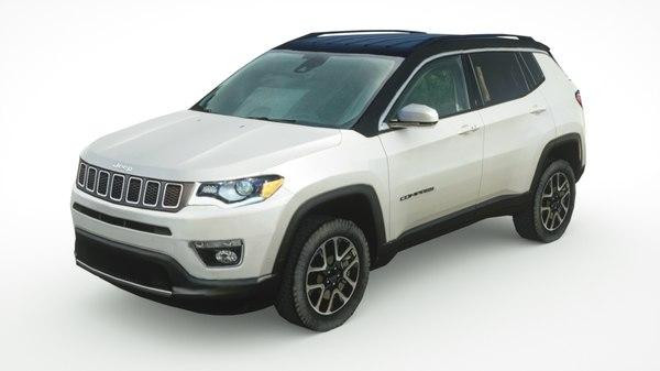 jeep compass 2019 3D model