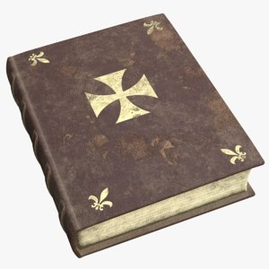 old templars book model