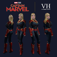 captain marve victorie 3D model