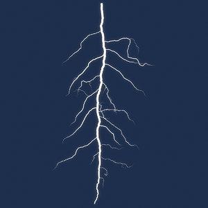 lightning 5 light 3D model