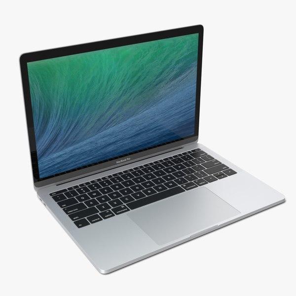apple macbook pro 13 3D