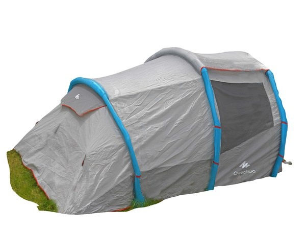 3D real camping tent scanned