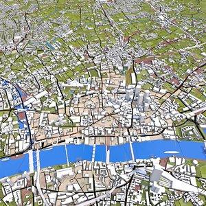 3D london cities model