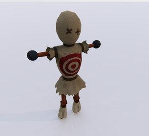 training dummy 3D