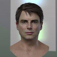 3d model John Barrowman Jack Harkness