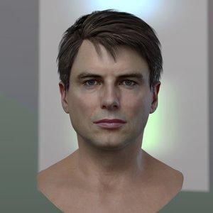 john barrowman jack harkness 3D