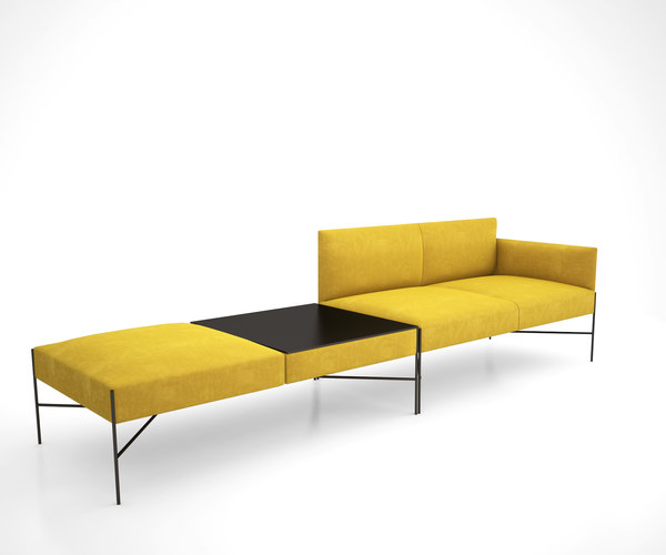 chill-out armchair tacchini 3D model