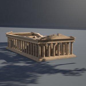 acropolis marbles history 3D model