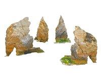 3D rock monument 16k model