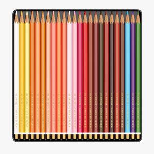 color pencils 3D
