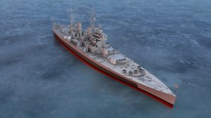 king george v british 3D model