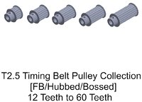 T2.5 FB Timing Belt Pulley Collection
