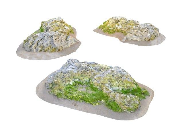 rocks 16k 3D