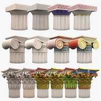 3D classical order column set model