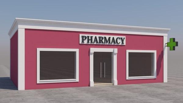 3D mexican pharmacy model