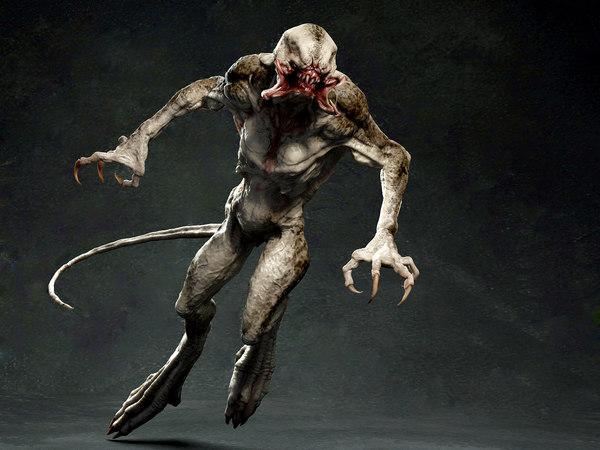 3D rigging skin model