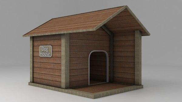 3D doghouse shelter
