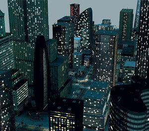 3D city a4