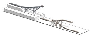 assembly conveyors mining plant model